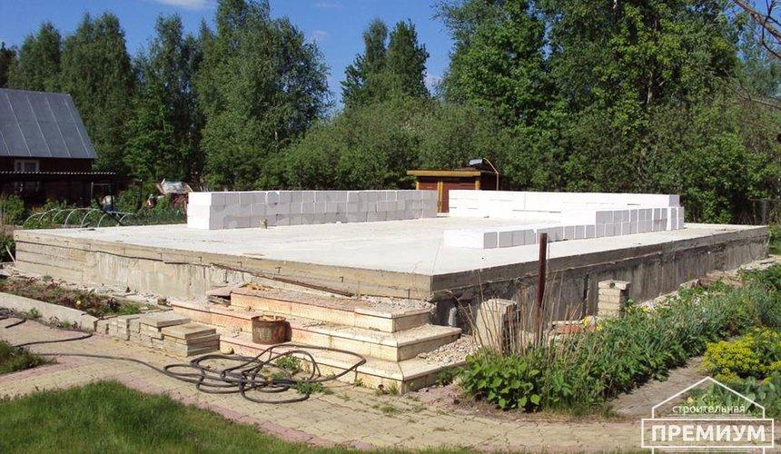 Проектирование и строительство коттеджа из блоков в п. Старопышминский 9