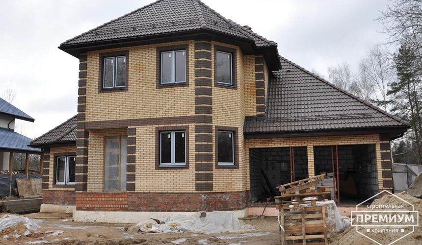 Проектирование и строительство коттеджа из блоков в п. Черданцево 1