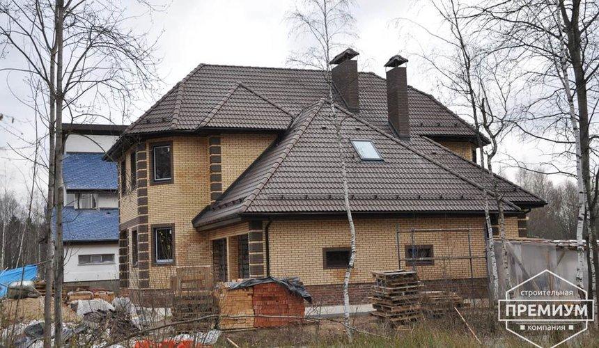Проектирование и строительство коттеджа из блоков в п. Черданцево 2