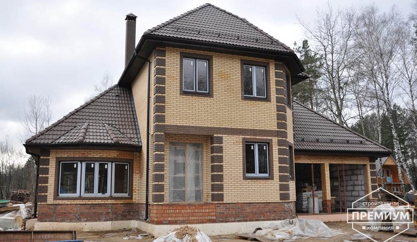 Проектирование и строительство коттеджа из блоков в п. Черданцево 3