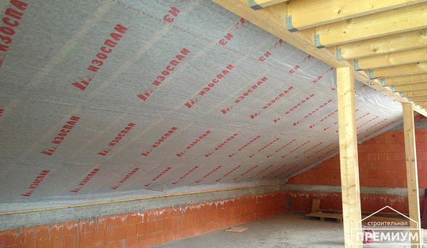 Строительство коттеджа из кирпича в п. Ключи 3