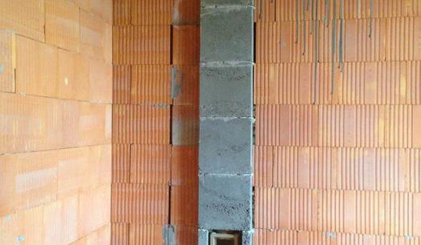 Строительство коттеджа из кирпича в п. Ключи 4