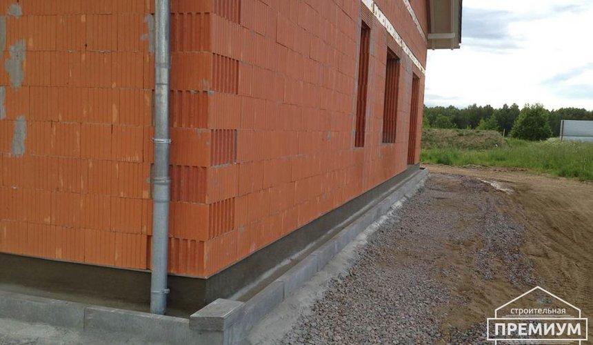 Строительство коттеджа из кирпича в п. Ключи 6