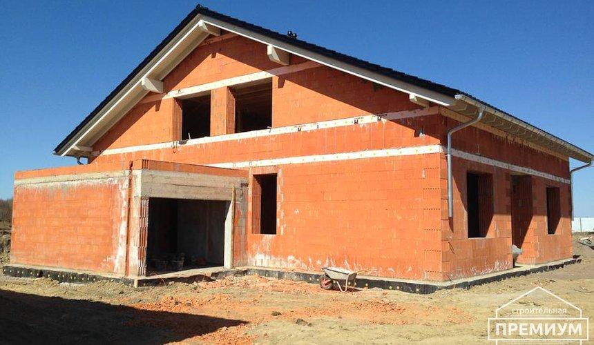 Строительство коттеджа из кирпича в п. Ключи 7