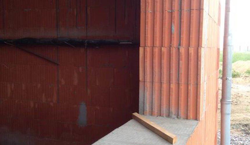 Строительство коттеджа из кирпича в п. Ключи 10