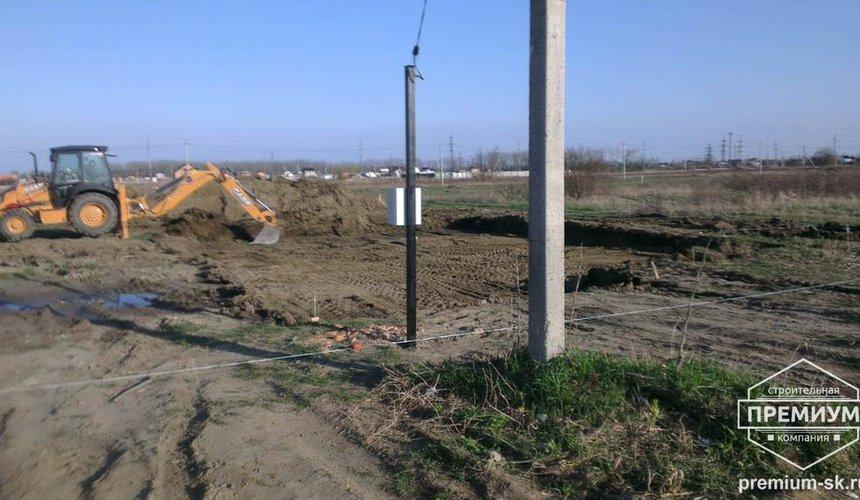 Строительство коттеджа из блоков в с. Патруши 2