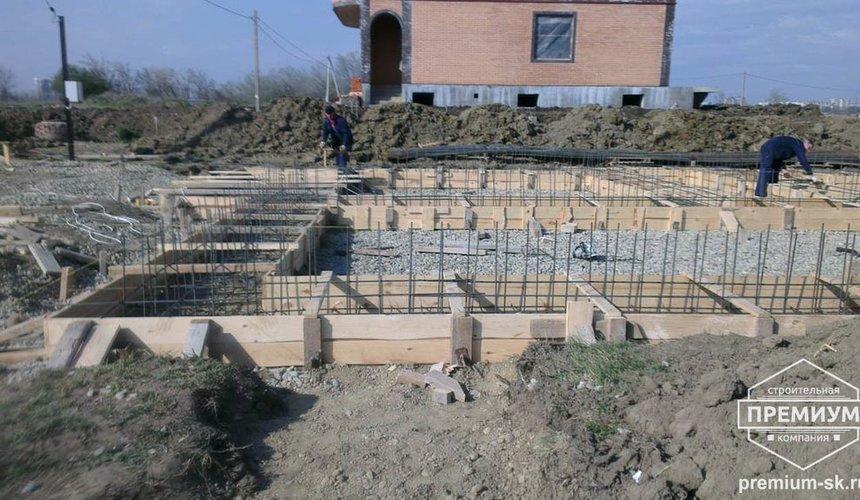 Строительство коттеджа из блоков в с. Патруши 4