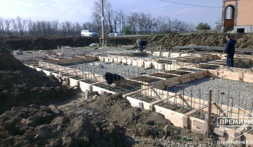 Строительство коттеджа из блоков в с. Патруши 5