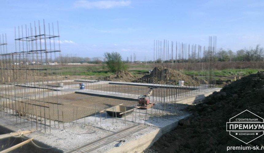 Строительство коттеджа из блоков в с. Патруши 8
