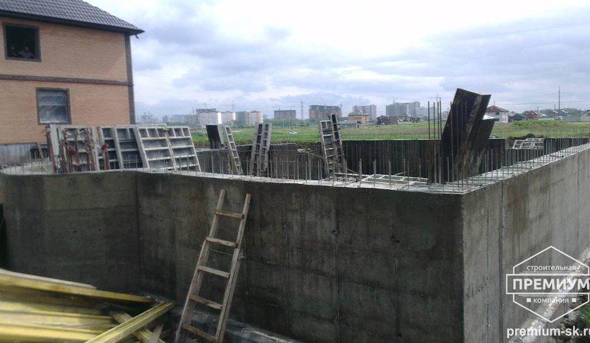 Строительство коттеджа из блоков в с. Патруши 10