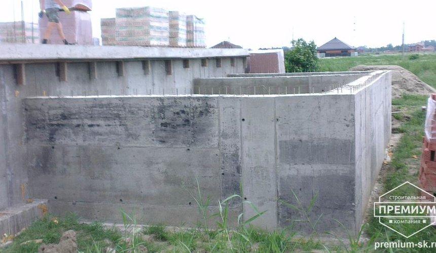 Строительство коттеджа из блоков в с. Патруши 11