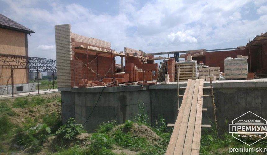 Строительство коттеджа из блоков в с. Патруши 13