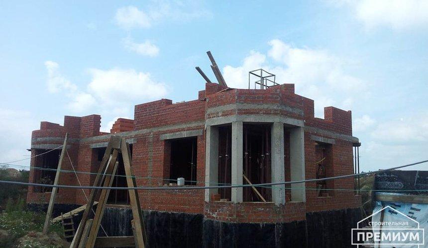 Проектирование и строительство коттеджа из кирпича в с. Косулино 5