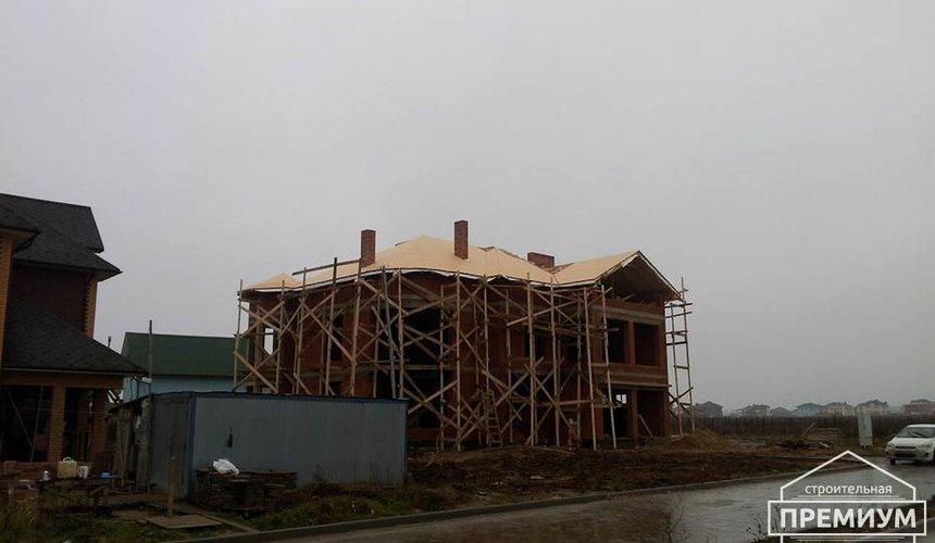 Проектирование и строительство коттеджа из кирпича в с. Косулино 11