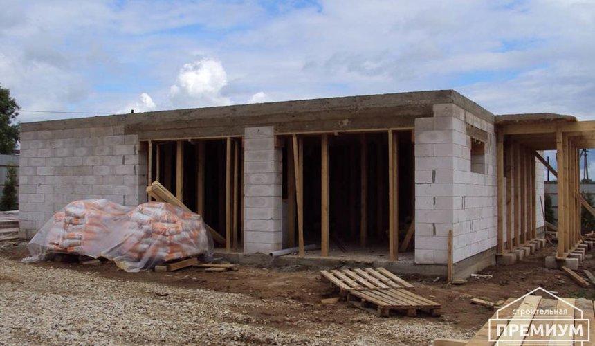 Строительство коттеджа из блоков в г. Арамиль 7