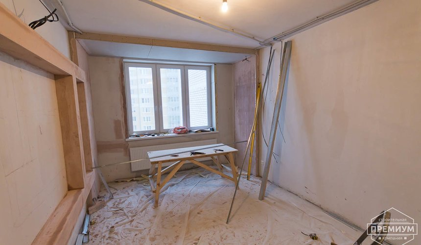 Ремонт трехкомнатной квартиры по ул. Фурманова 125 58