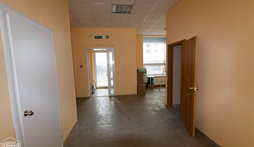 Ремонт офисного помещения 75 кв.м, ул. Мехренцева 1