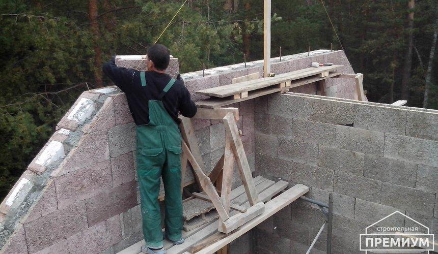 Проектирование и строительство коттеджа из дюрисола в Экодолье 25