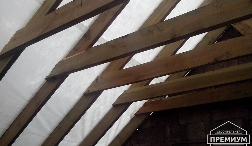 Проектирование и строительство коттеджа из дюрисола в Экодолье 30