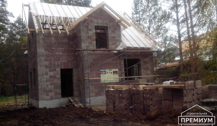 Проектирование и строительство коттеджа из дюрисола в Экодолье 34