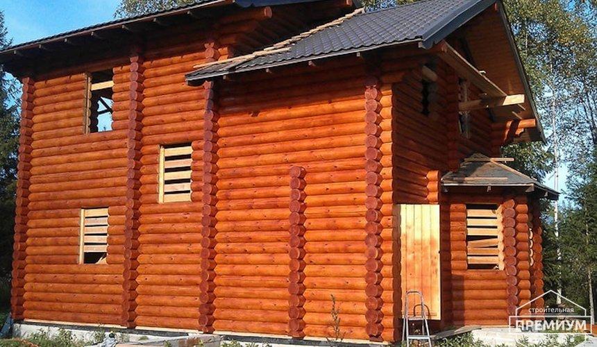 Проектирование и строительство дома из бревна в Березовском 5