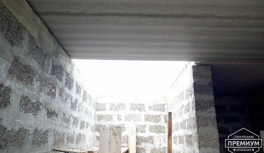 Строительство коттеджа из бризолита в Горном щите 5