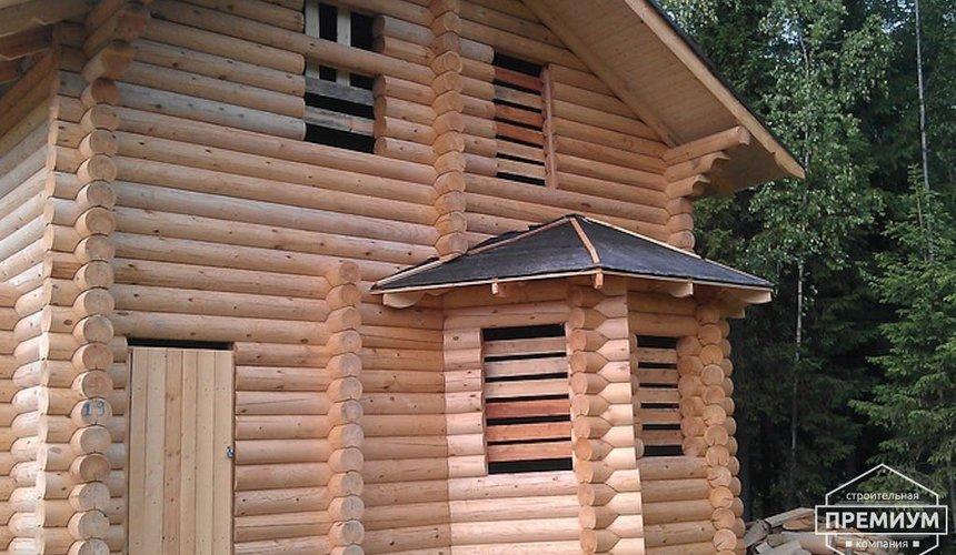 Проектирование и строительство дома из бревна в Березовском 4