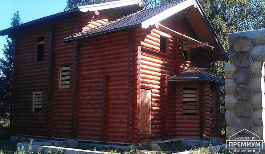 Проектирование и строительство дома из бревна в Березовском 6