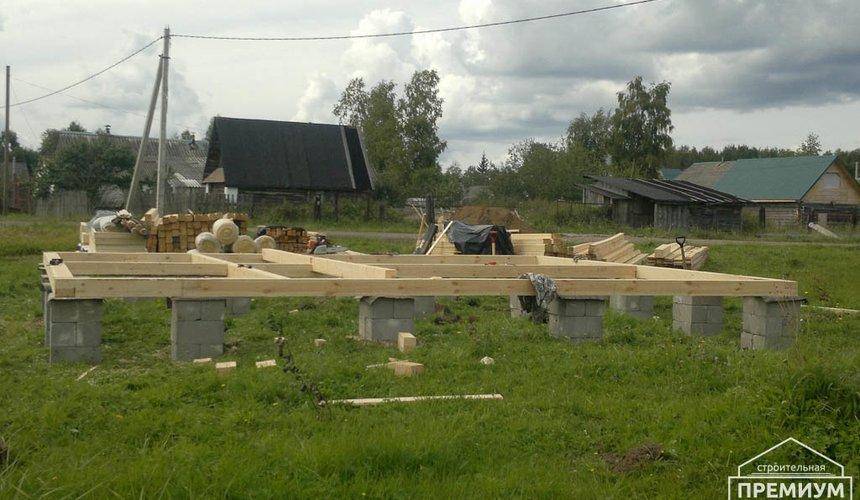 Строительство дома из бруса в Горном щите 2