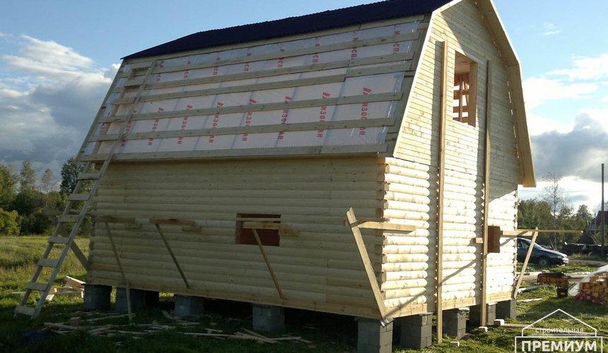 Строительство дома из бруса в Горном щите 12