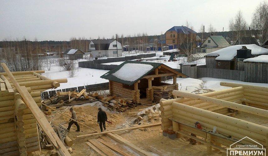 Строительство дома из бревна в Балтыме 4
