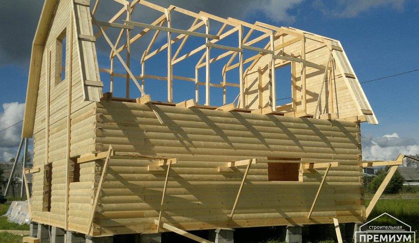Строительство дома из бруса в Горном щите 7