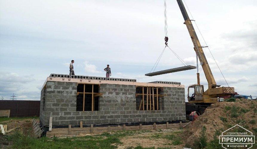 Строительство коттеджа из бризолита в Горном щите 7