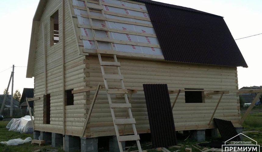 Строительство дома из бруса в Горном щите 9