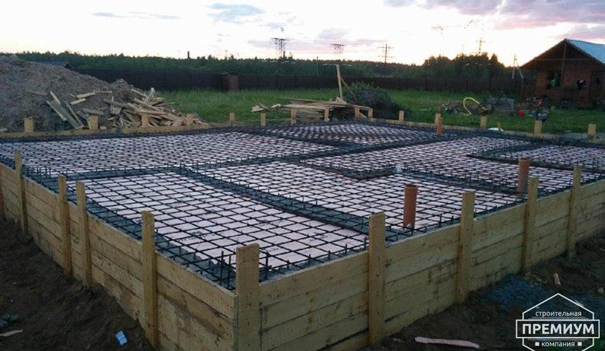 Строительство коттеджа из бризолита в Горном щите 12