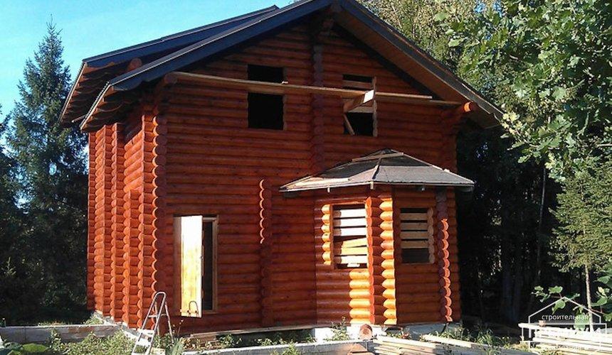 Проектирование и строительство дома из бревна в Березовском 2