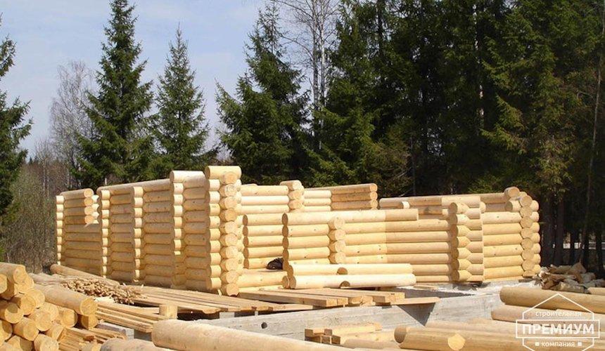 Проектирование и строительство дома из бревна в Березовском 3