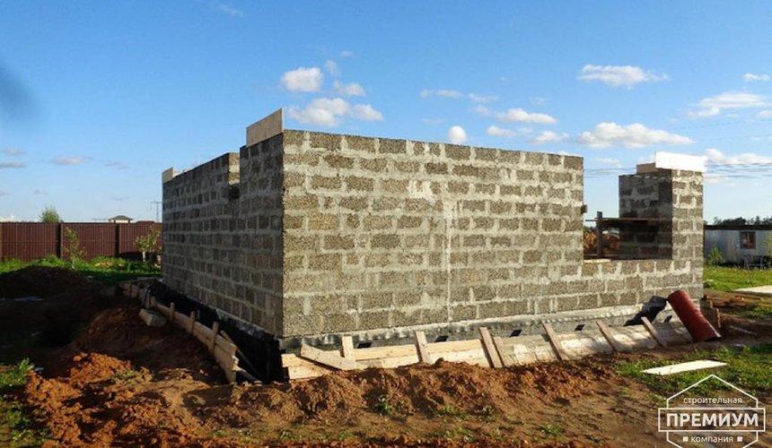 Строительство коттеджа из бризолита в Горном щите 10