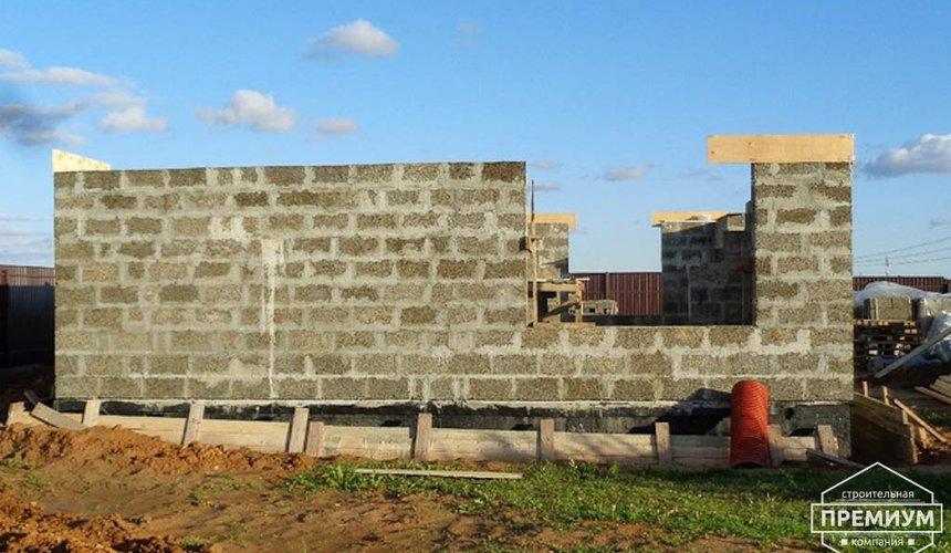 Строительство коттеджа из бризолита в Горном щите 15