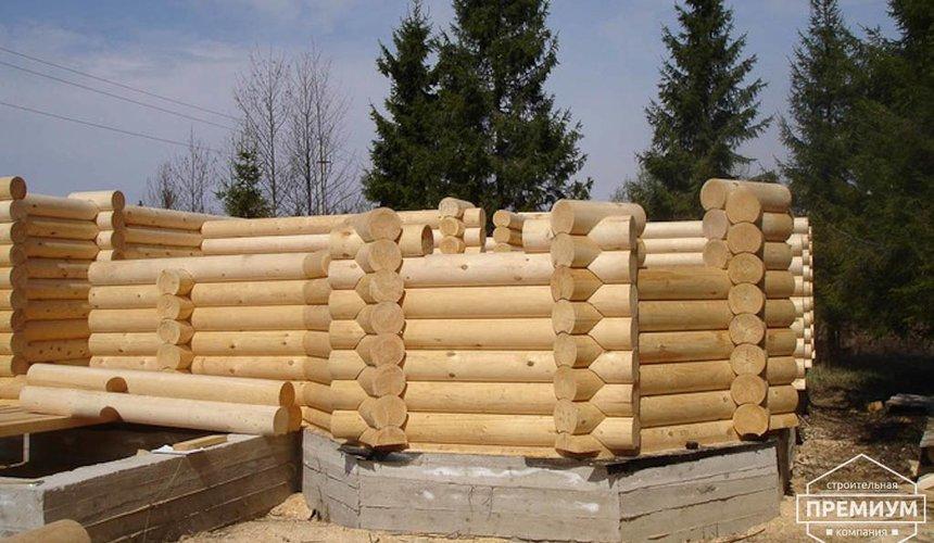 Проектирование и строительство дома из бревна в Березовском 8
