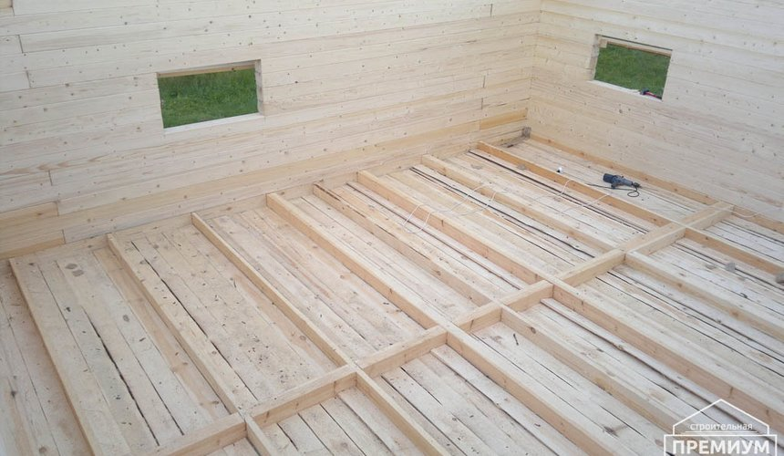 Строительство дома из бруса в Горном щите 5