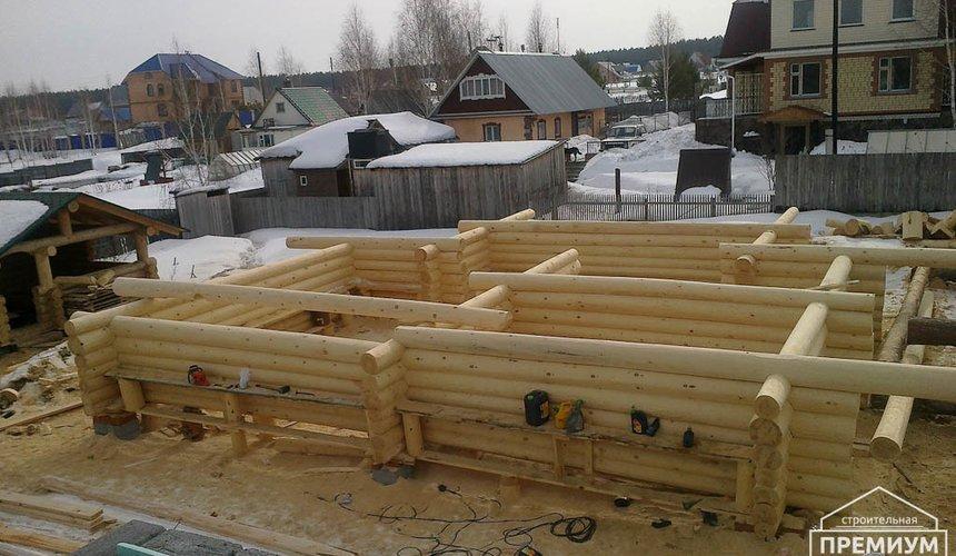 Строительство дома из бревна в Балтыме 20