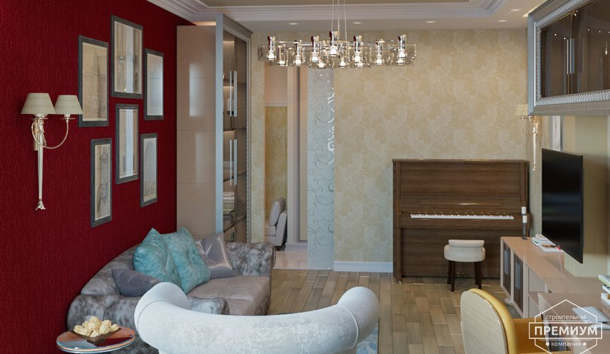 Ремонт и дизайн интерьера трехкомнатной квартиры по ул. Малогородская 4 46