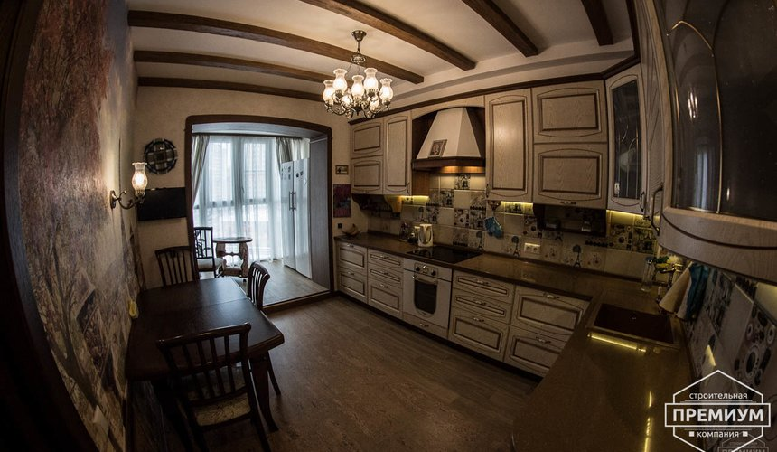Ремонт и дизайн интерьера трехкомнатной квартиры по ул. Авиационная 16 10