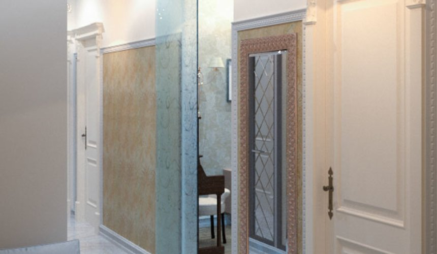 Ремонт и дизайн интерьера трехкомнатной квартиры по ул. Малогородская 4 53