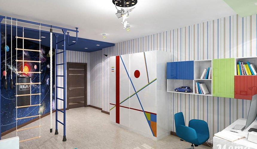 Ремонт и дизайн интерьера трехкомнатной квартиры по ул. Авиационная 16 90