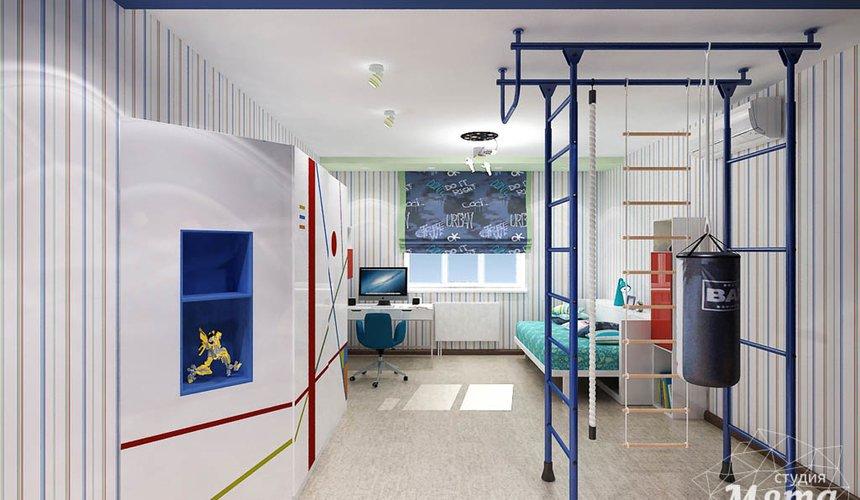 Ремонт и дизайн интерьера трехкомнатной квартиры по ул. Авиационная 16 91