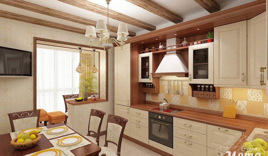 Ремонт и дизайн интерьера трехкомнатной квартиры по ул. Авиационная 16 61