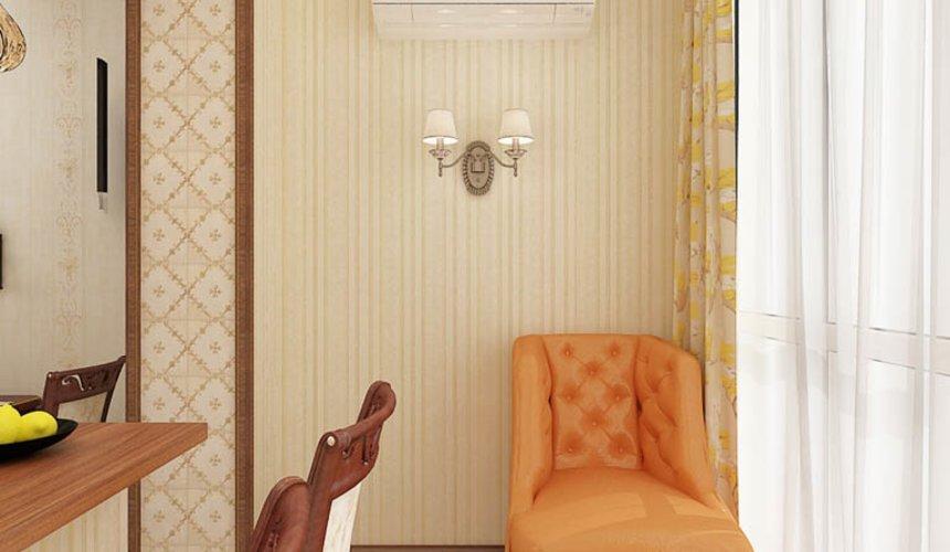 Ремонт и дизайн интерьера трехкомнатной квартиры по ул. Авиационная 16 65