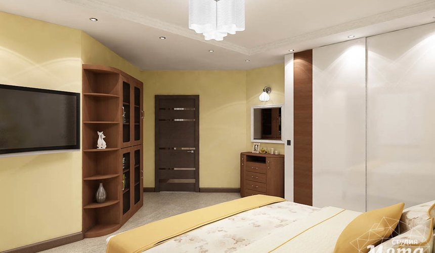 Ремонт и дизайн интерьера трехкомнатной квартиры по ул. Авиационная 16 86